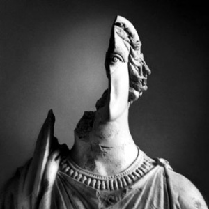 broken sculpture
